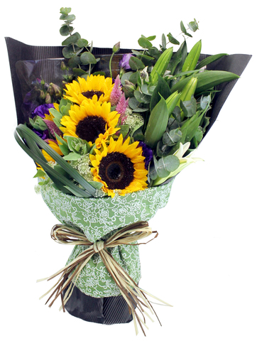 Florist Flower Bouquet - Sun Rise Boutique - L103621 Photo