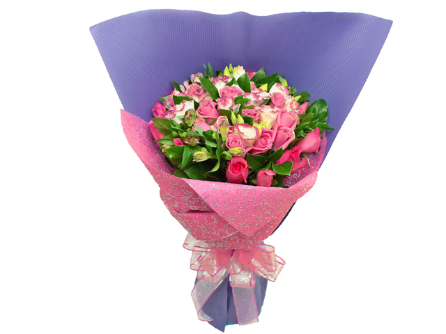 Florist Flower Bouquet - Your Fans Bouquet - L07116 Photo