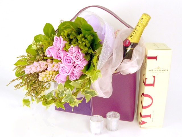 Florist Gift Set - Just the Two of Us(Purple) (E) - P16520 Photo