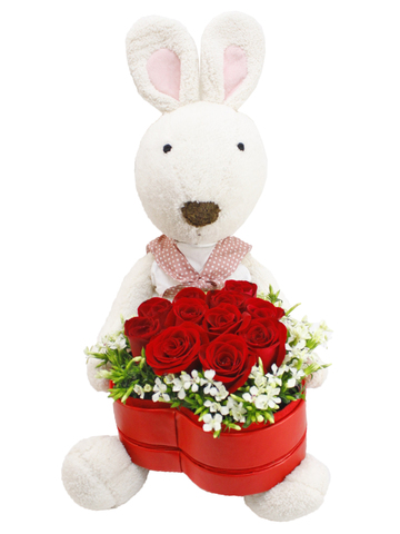 Florist Gift Set - Rabbit & Flower  /Birthday Gift 13 - L88133 Photo