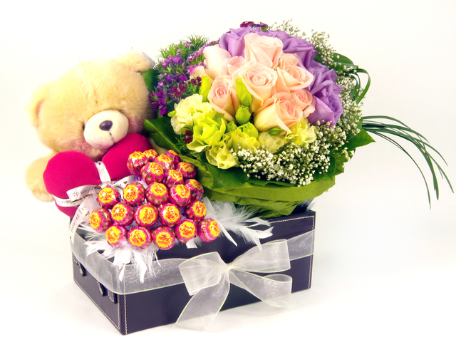 Florist Gift Set - Three Times the Charm / Birthday Gift(03) - P5207 Photo