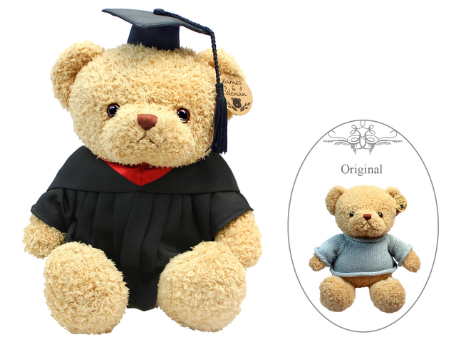 Florist Gift - Barnes & Coleman Graduation Brown Teddy Bear - L175578 Photo