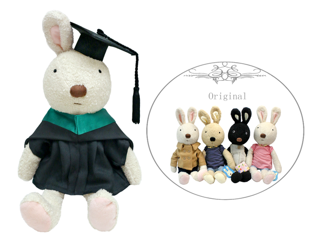 Florist Gift - Graduation Doll - Le Sucre Rabbit  - L36668899b Photo