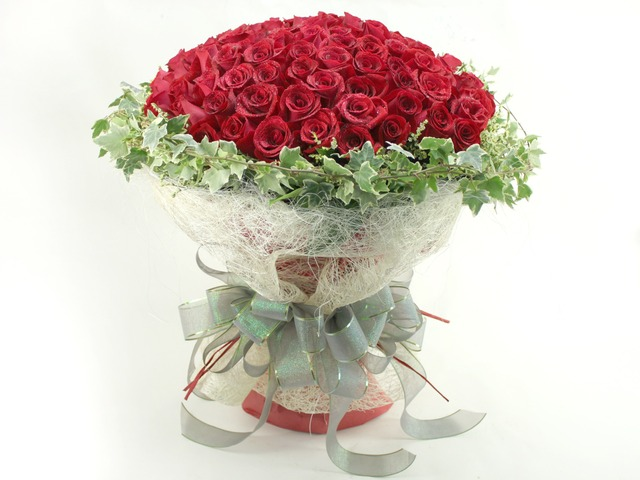 Flower Shop New Product - 99 red roses - L06843 Photo