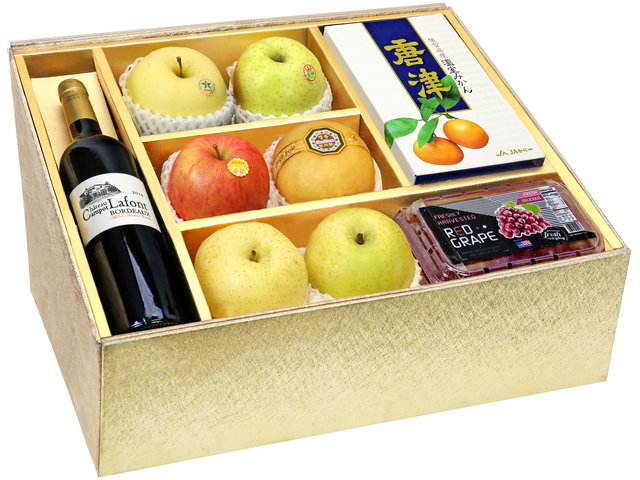 Fruit Basket - CNY Panorama Fruits Gift Box CNY11 - 0DP0105B3 Photo