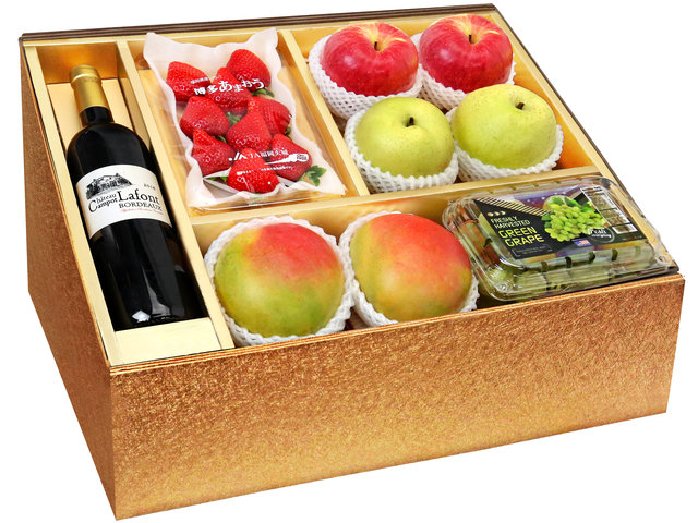 Fruit Basket - CNY Panorama Fruits Gift Box CNY7 - 0DP0105B2 Photo