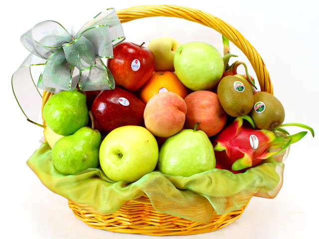 Fruit Basket - Economic Fruit Gift Basket (4)  - L11437 Photo