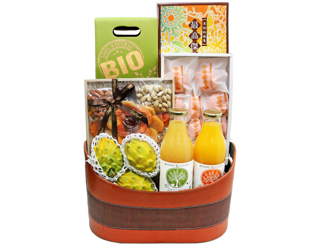 Fruit Basket - Japanese gift box fruit Hamper G27 - L76604897 Photo