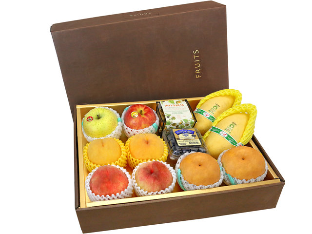 Fruit Basket - Mid Autumn Fruits Gift Box B10 - 0FB0731B6 Photo