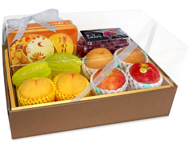 Fruit Basket - Mid Autumn Maxim Moon Cake Fruits Gift Box B16 - 0FB0704A5 Photo
