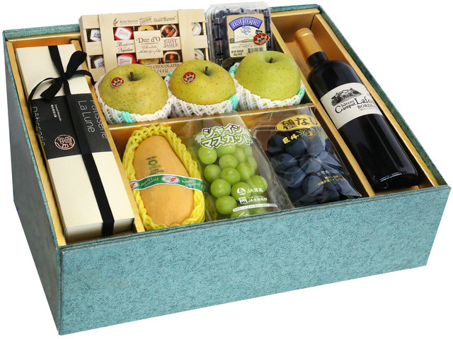 Fruit Basket - Mid Autumn Panorama Fruits Gift Box M20 - 0DP0713E5 Photo
