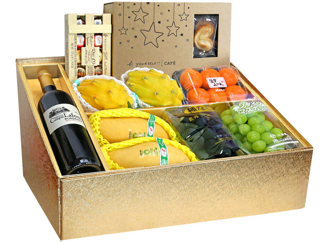 Fruit Basket - Mid Autumn Panorama Fruits Gift Box M26 - 0DP0713E3 Photo