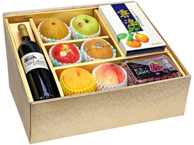 Fruit Basket - Mid Autumn Panorama Fruits Gift Box M38 - 0DP0804A1 Photo