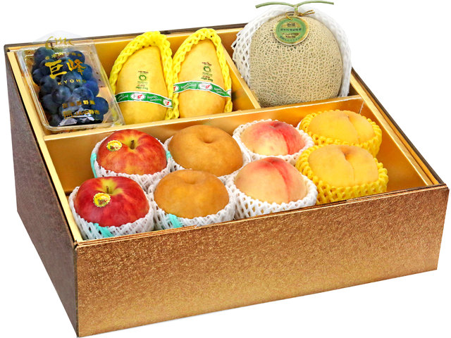 Fruit Basket - Mid Autumn Panorama Fruits Gift Box M43 - 0DP0802A4 Photo