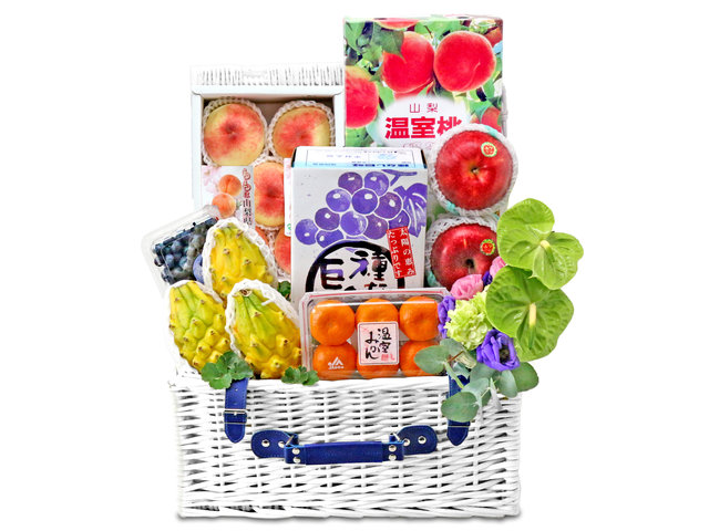 Fruit Basket - luxury fruit basket - L76601374 Photo