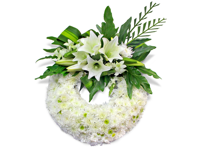 Funeral Coffin n Casket Flower - coffin flower 8 - L105354 Photo