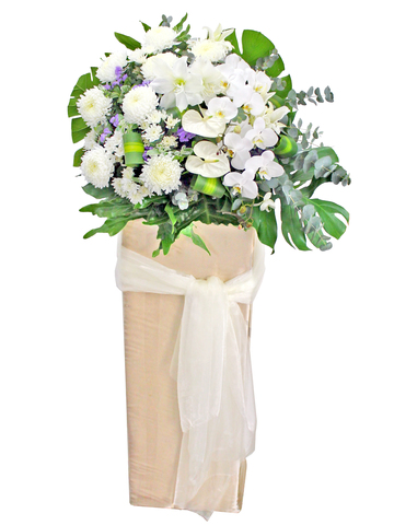 Funeral Flower - Funeral Flower Stand F2 - L175279 Photo