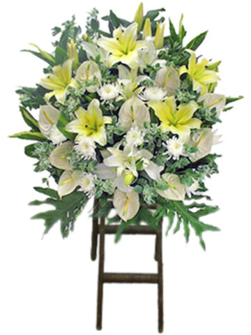 Funeral Flower - Funeral Flower Stand F3 - L178065 Photo