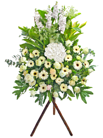 Funeral Flower - Funeral Flower Stand N1 (B) - L65129B Photo