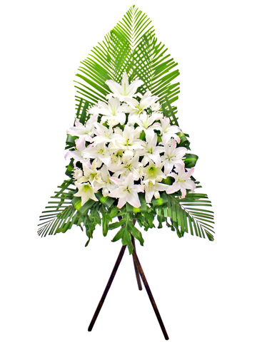 Funeral Flower - Funeral Flower Stand N9 - L174001 Photo