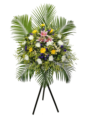 Funeral Flower - Funeral Stand N5 - L101783 Photo