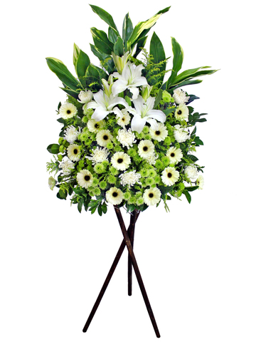 Funeral Flower - Funeral Stand N7 - L158010 Photo