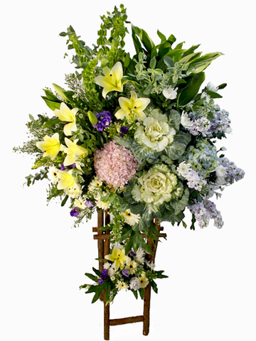 Funeral Flower - Funeral Tall Stand D2 - L80236 Photo