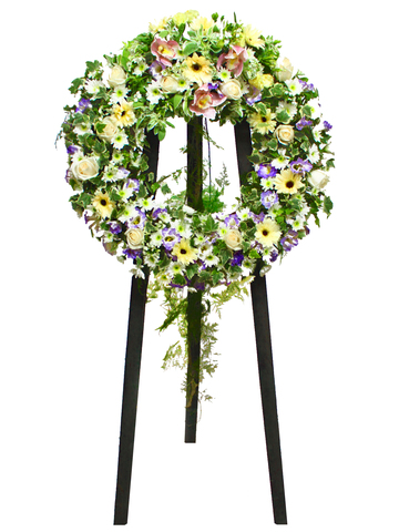 Funeral Flower - Funeral Wreath 6 - L11637 Photo