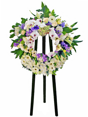 Funeral Flower - Funeral Wreath 7 - L81191 Photo