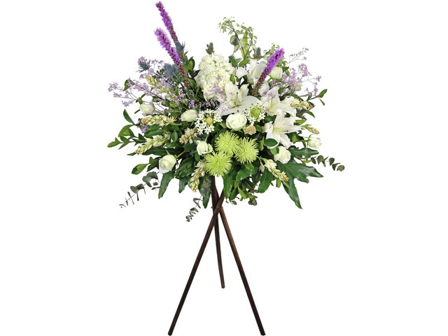 Funeral Flower - Funeral florist stand H05 - L2161 Photo