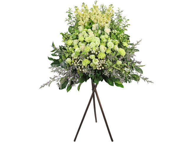 Funeral Flower - Funeral flower stand BA15 - L3703 Photo