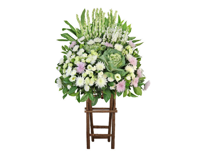Funeral Flower - Funeral flower stand BA17 - L9067 Photo