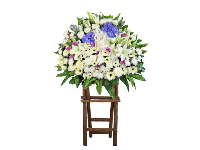 Funeral Flower - Funeral flower stand BA23 - L9569 Photo