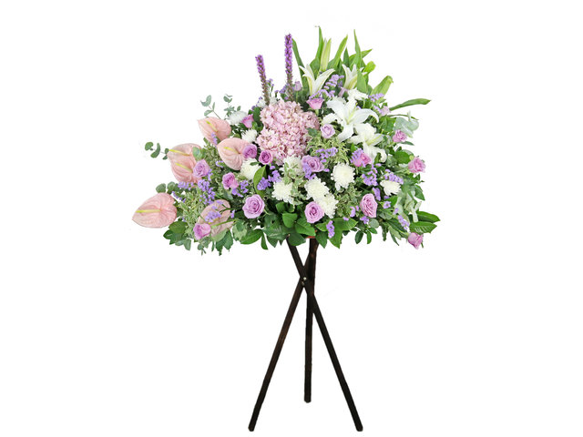 Funeral Flower - Funeral flower stand BA24 - L9452 Photo