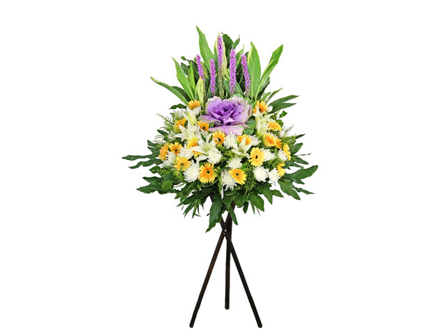 Funeral Flower - Funeral flower stand BA30 - L9752 Photo