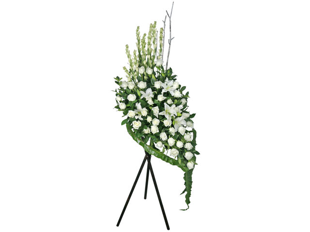 Funeral Flower - Funeral flower stand BA5 - L76610518 Photo