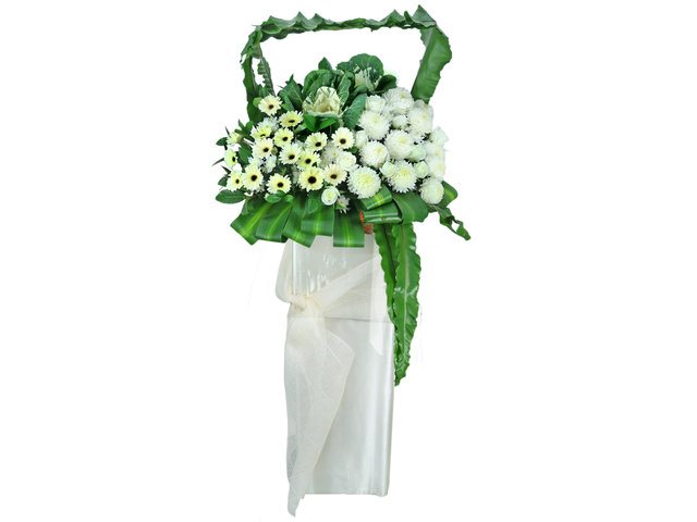 Funeral Flower - Funeral flower stand F4 - L76608893 Photo