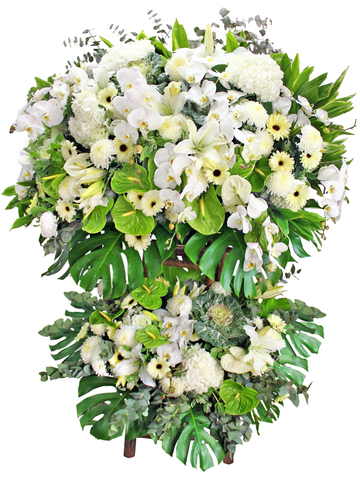 Funeral Flower - Large Funeral Flower Stand G2 - L174988 Photo