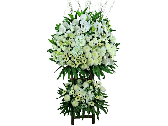Funeral Flower - Large Funeral Flower Stand G5 - L76608886 Photo