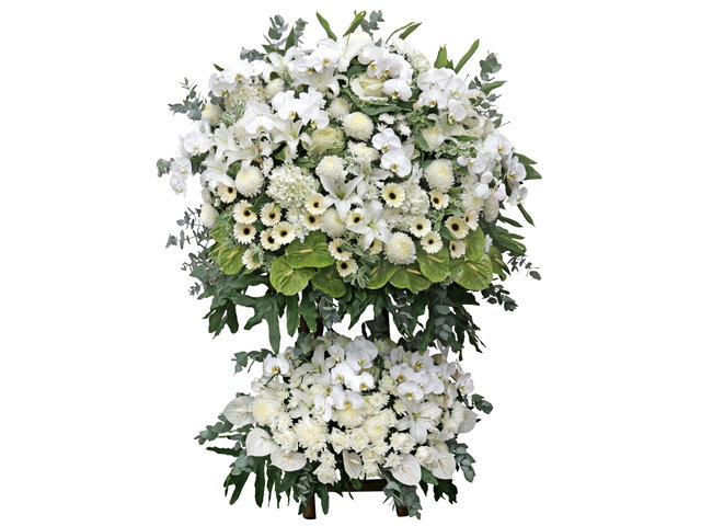 Funeral Flower - Large Funeral Flower Stand G8 - L76610565 Photo