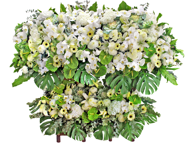 Funeral Flower - Premium Funeral Flower Stand  - L174969 Photo