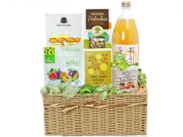 Get Well Soon Gift - Food gift hamper G3 - L76600289 Photo
