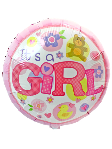 Gift Accessories - Baby Girl 18 inches Helium Balloon - L175199 Photo
