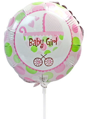Gift Accessories - Baby Girl 6 inches Balloon - L175131 Photo