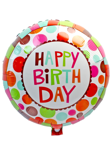 Gift Accessories - Birthday 18 inches Helium Balloon - L175196 Photo