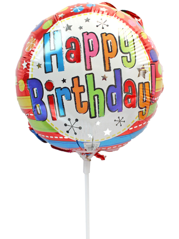 Gift Accessories - Birthday 6 inches Balloon - L175127 Photo