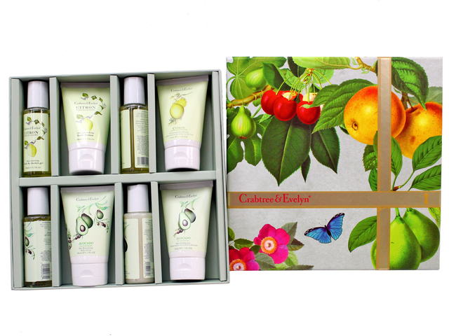 Gift Accessories - Crabtree & Evelyn Hair & Body Care Traveller - Avocado & Citron - L3105875 Photo