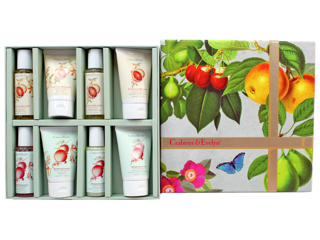 Gift Accessories - Crabtree & Evelyn Hair & Body Care Traveller - Pomegranate & Tarocco Orange - L3105878 Photo