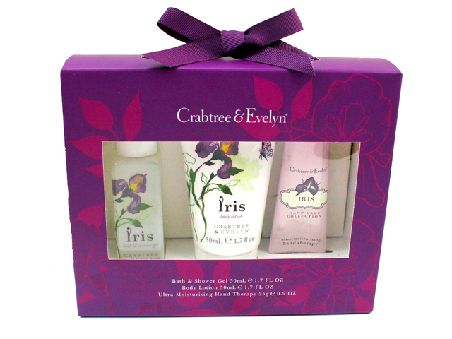Gift Accessories - Crabtree & Evelyn Iris Skin Care Set  - L3105826 Photo