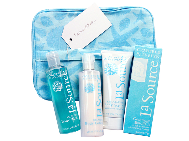 Gift Accessories - Crabtree & Evelyn La Source Body Care Set - L3105838 Photo
